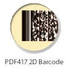 ID Card with 2D barcode