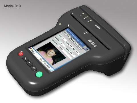 Portable M310 Id Reader Card Id-e