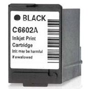 Black ink cartridge C6602A