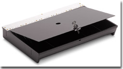 MS Cash Drawer locking cover