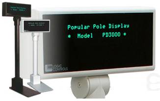 Logic Controls Pole Displays
