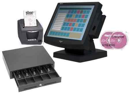 Restaurant POS Bundle with touchcomputer