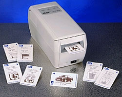 Star TCP400 card printer