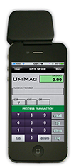 Unimag II on iPhone